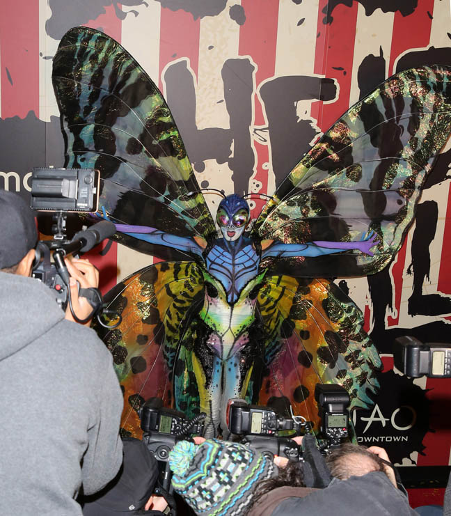 Moto X Presents Heidi Klum's 15th Annual Halloween Party sponsored by SVEDKA Vodka at TAO Downtown in NYC